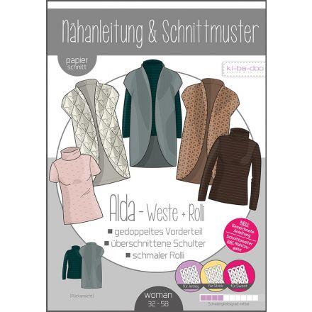 Finja Sweater-Kleid Damen, Ki-ba-doo Papierschnittmuster
