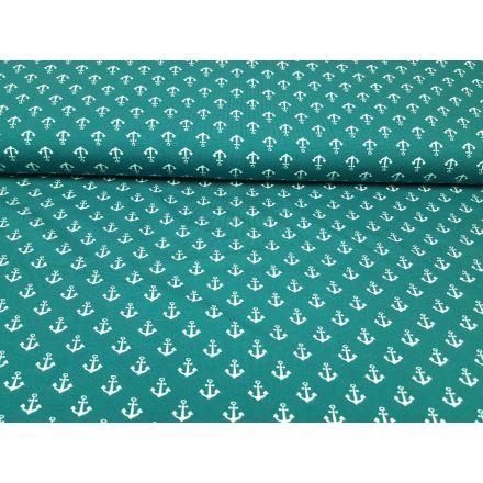Anker smaragd-weiss