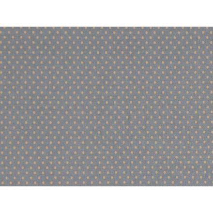 Au Maison Dots Wachstuch Grey-Mustard