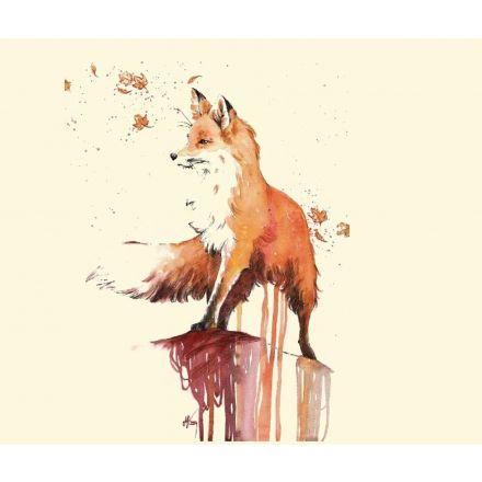 Bügelbild Fuchs