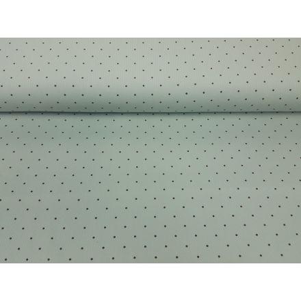 Babycord, dots mint/dunkelbrau