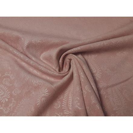 Babycord Paisley rosa