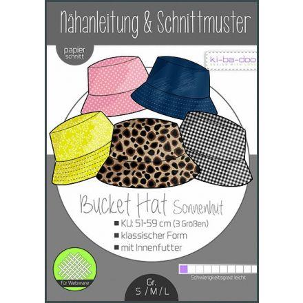 Basic Bucket Hat Sonnenhut, Ki-ba-doo Papierschnittmuster