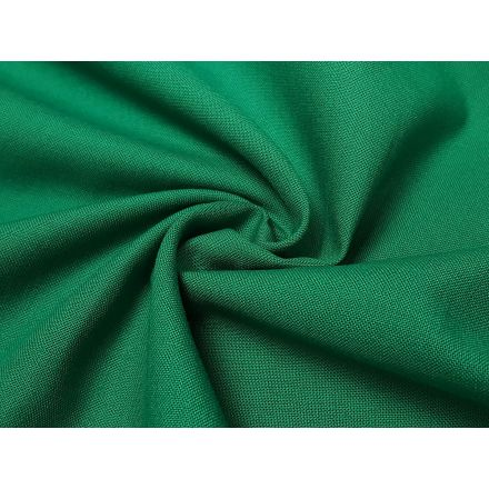 Baumwolle Webware uni grün