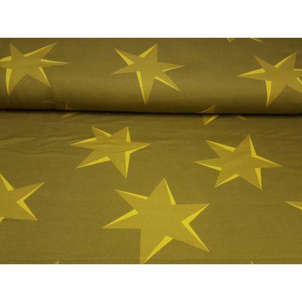 Big Pattern senf/gelb