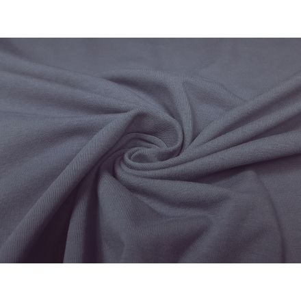 Bio-Baumwolljersey graublau