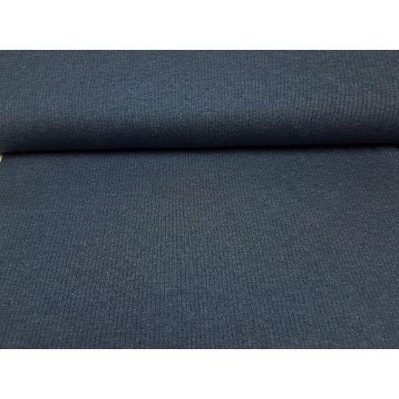 Bio-Rippenjersey aruba jeansblau melange