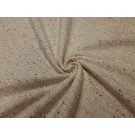 Cosy Sommersweat beige/meliert/konfetti
