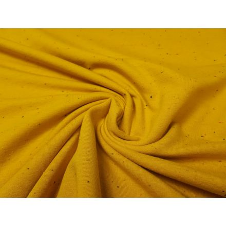 Cosy Sommersweat safrangelb/konfetti