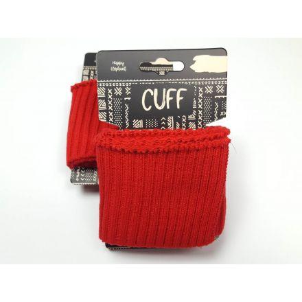 Cuff Bündchen rot
