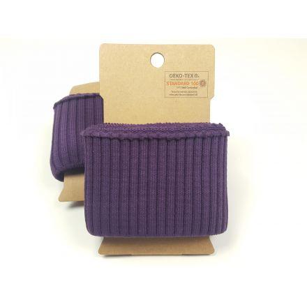 Cuff Bündchen violett