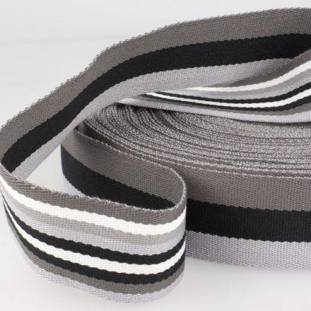 Gurtenband für Taschen usw.  Material: 100% Polyester Breite: 40mm