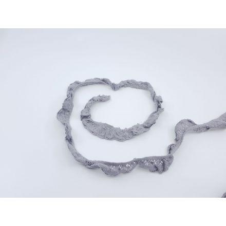 elastische Spitze 20mm grau
