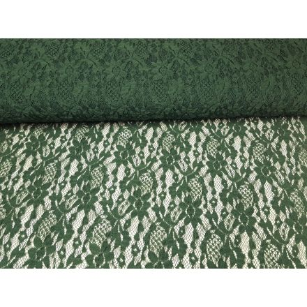 elastische Spitze helles tannengrün