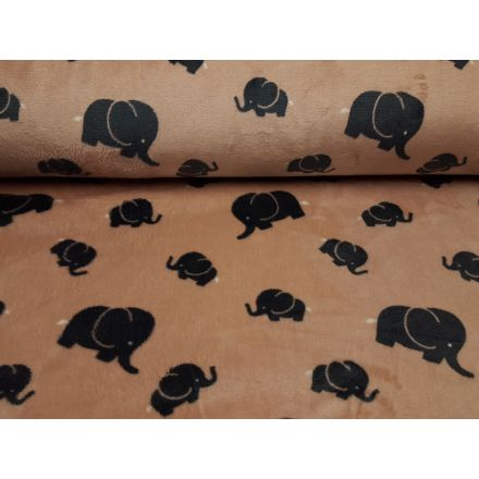 Elephant altrosa/mausgrau/weiss
