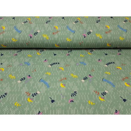 Fantasy Knit mint-weiss-gelb