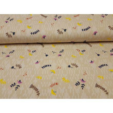 Fantasy Knit sand-weiss-gelb