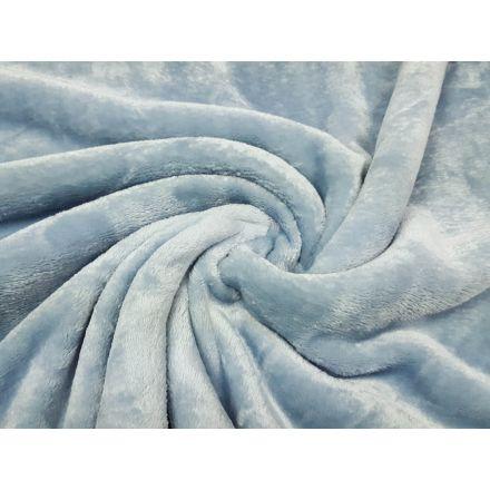 Flanelle Wellnessfleece himmelblau