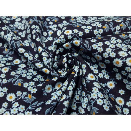 Fleur dunkelblau/weiss/gelb