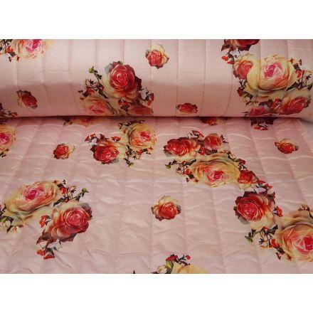 Flowerquilt Stepper rosa/bunt