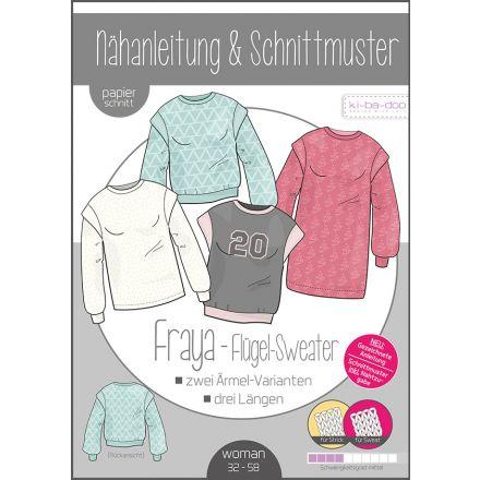 Fraya Flügel Sweater Damen, Ki-ba-doo Papierschnittmuster