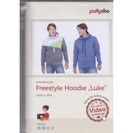 Freestyle Hoodie Luke, Schnittmuster