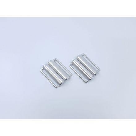 Gürtelverschluss 40mm silber