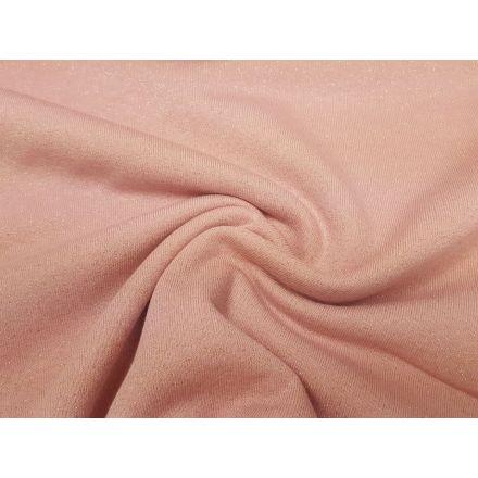 Glitter Jogging rosa/gold
