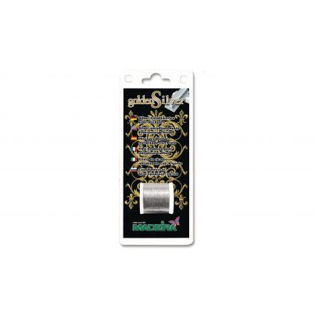 Näh- und Stickgarn Madeira GoldenSilver Silber