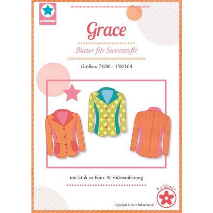 Grace Blazer für Sweatstoffe, Schnittmuster
