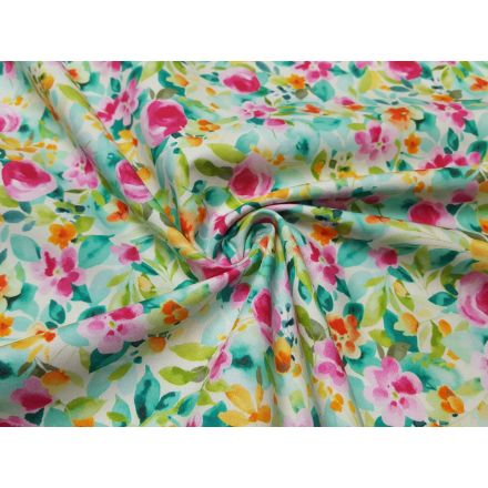Greenly Flower offwhite/bunt