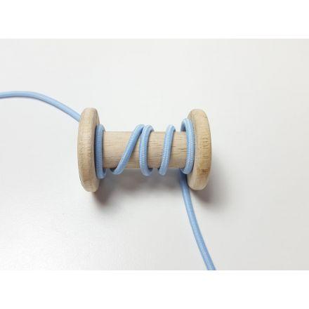 Gummikordel ø 3 mm hellblau