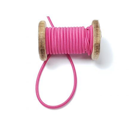 Gummikordel ø 3 mm pink
