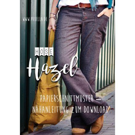 Hose Hazel Damen, Prülla Papierschnittmuster