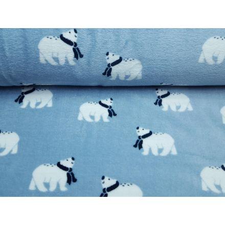 Icebear-Stripe himmelblau/weiss/dunkelblau/beige/steingrau
