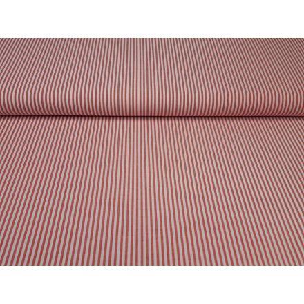 Ida Stripe weiss/rot