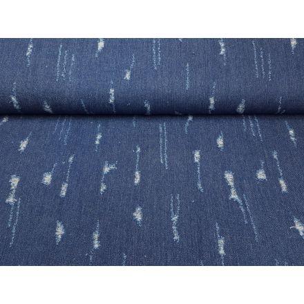 Jeans dunkelblau glitter destroyed