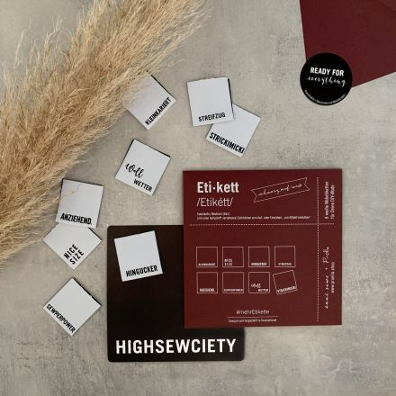 #mehrEtikette 4. Edition - Highsewsiety