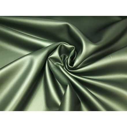 Kunstleder metallic dusty green