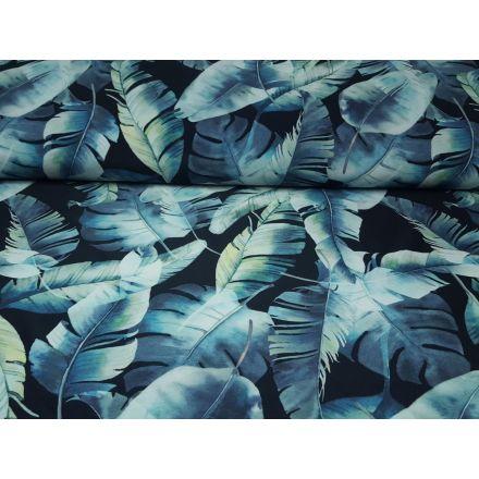Leaves schwarz/dustymint