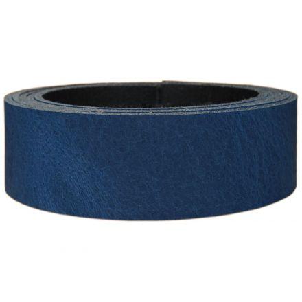 Lederriemen Pull UP 2,5 cm breit blau