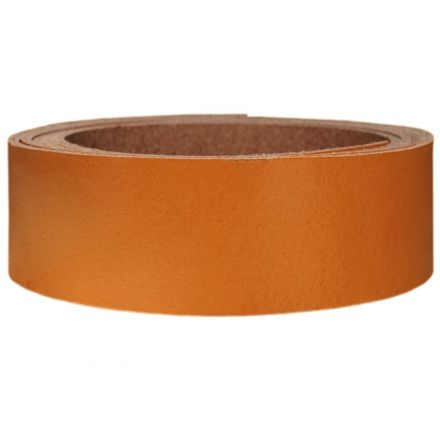 Lederriemen Pull UP 2,5 cm breit orange