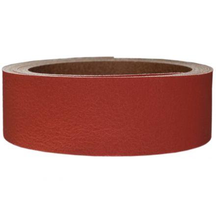 Lederriemen Pull UP 2,5 cm breit rot