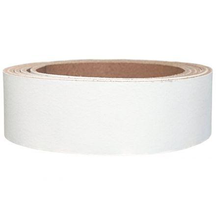 Lederriemen Pull UP 2,5 cm breit weiss