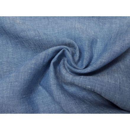 Leinen helles jeansblau melange