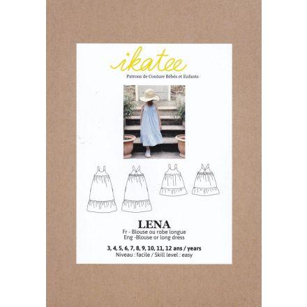 Lena Bluse und Tunika für Kinder, Ikatee Papierschnittmuster