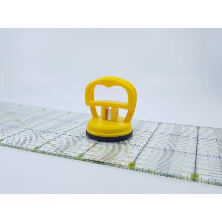 Linealhalter gelb
