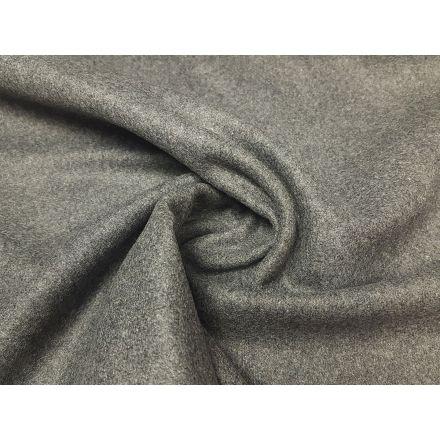 Mantelstoff grau/melange