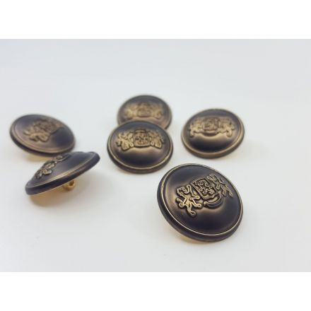 Metallknöpfe geschwärzt 34mm