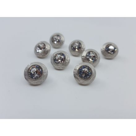 Metallknöpfe silber 12mm